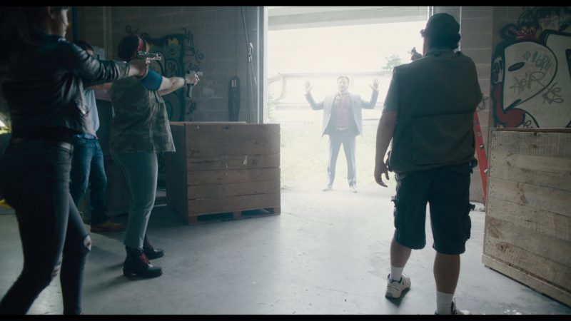 New Balance Shoes Worn by Bobby Moynihan in Killing Gunther (2017) - Movie Product Placement