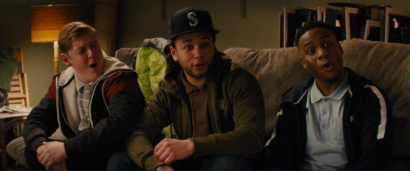 New Era Cap and Nike Jacket in Kingsman 2: The Golden Circle (2017) Movie Product Placement