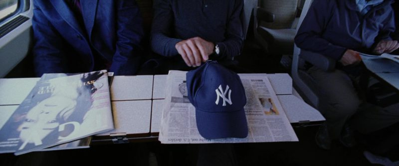 New York Yankees Baseball Team Cap Worn by George Clooney in Ocean's Twelve (2004) - Movie Product Placement