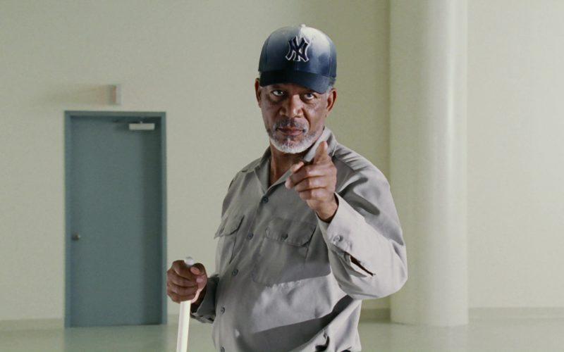 New York Yankees Baseball Team Cap Worn by Morgan Freeman in Bruce Almighty (4)