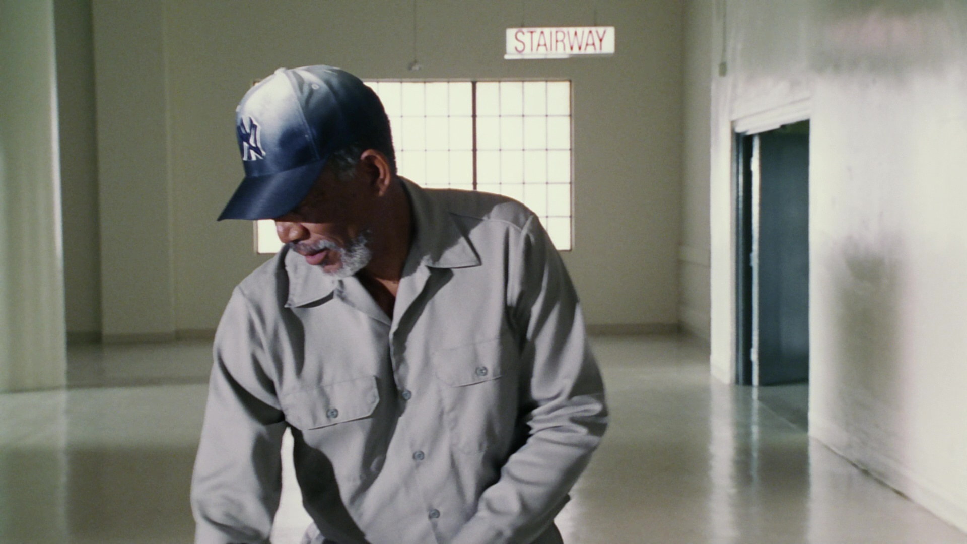 New York Yankees Baseball Team Cap Worn By Morgan Freeman