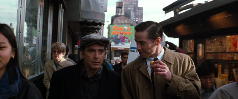Newport Pleasure Cigarettes Billboard in The Devil's Advocate (1997) Movie Product Placement