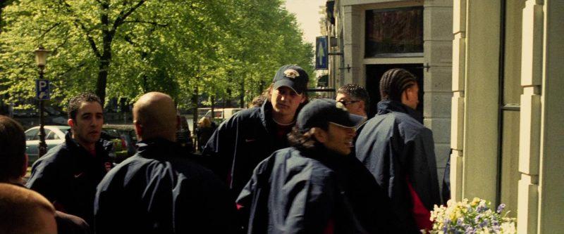 Nike Men's Jackets in Ocean's Twelve (2004) - Movie Product Placement