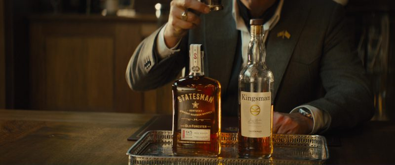 Old Forester Statesman Bourbon in Kingsman 2: The Golden Circle (2017) - Movie Product Placement