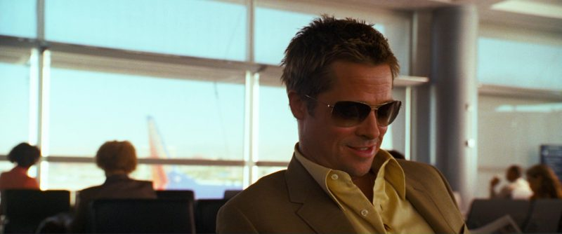 Oliver Peoples Strummer Sunglasses Worn by Brad Pitt in Ocean's Thirteen (2007) - Movie Product Placement