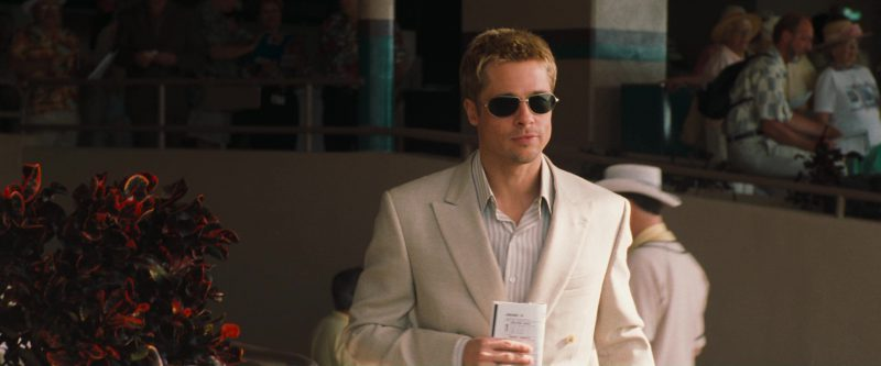 Oliver Peoples Whistle Sunglasses Worn by Brad Pitt in Ocean's Eleven (2001) - Movie Product Placement