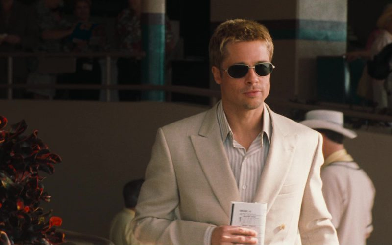 Oliver Peoples Whistle Sunglasses Worn by Brad Pitt in Ocean's Eleven (2)