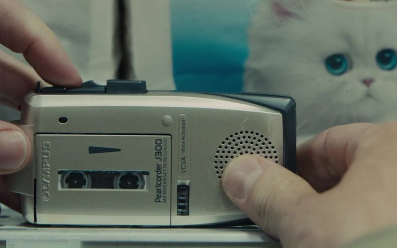 Olympus J300 Microcassette Recorder Used by Evan Peters in The Pirates of Somalia (1)