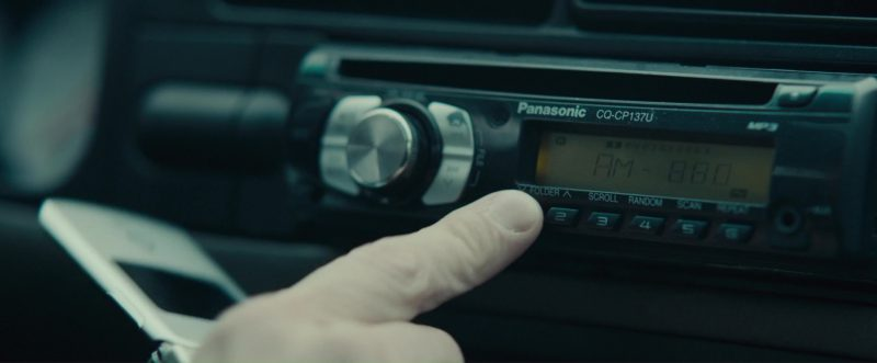 Panasonic CQ-CP137U (AM/FM MP3/ CD Player/ Receiver) Used by Evan Peters in The Pirates of Somalia (2017) Movie Product Placement