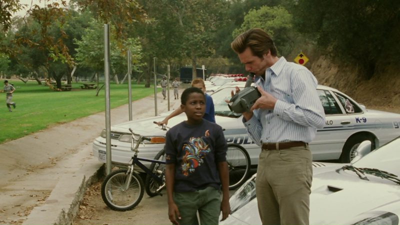 Panasonic Camcorder Used by Jim Carrey in Bruce Almighty (2003) Movie Product Placement