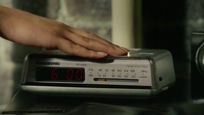Panasonic Clock Radio with Noiseless LED Digital Display (RC-6266) Used by Jim Carrey in Bruce Almighty (2003) Movie Product Placement