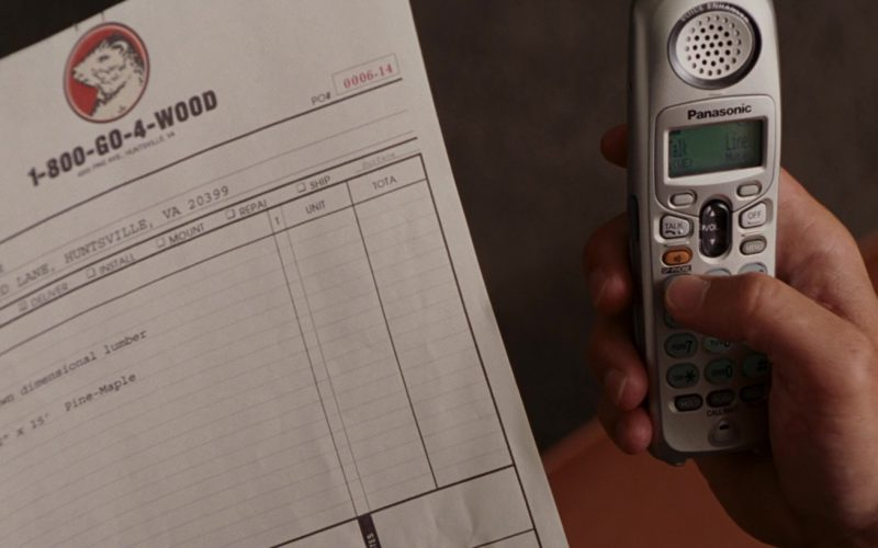 Panasonic Phone Used by Steve Carell in Evan Almighty (1)