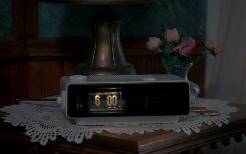 Panasonic RC-6025 Alarm (Radio) Clock Used by Bill Murray in Groundhog Day (1)