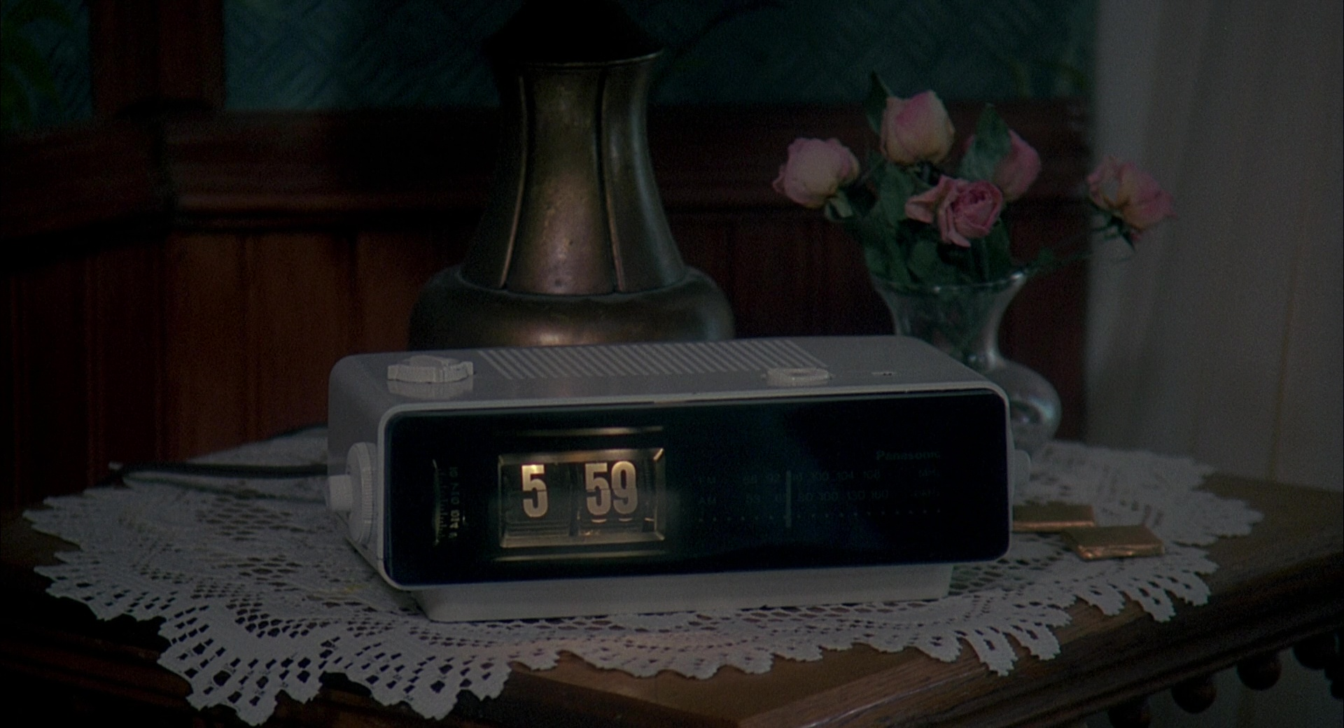 Panasonic Rc 6025 Alarm Radio Clock Used By Bill Murray