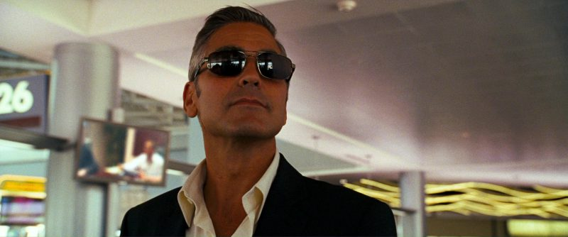 Persol 2157 Sunglasses Worn by George Clooney in Ocean's Thirteen (2007) Movie Product Placement