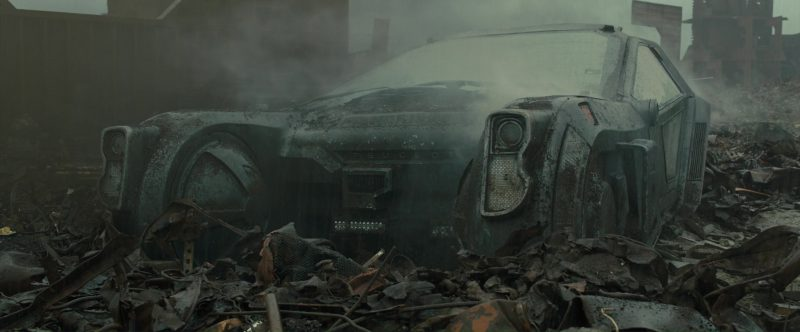Peugeot Car Used by Ryan Gosling in Blade Runner 2049 (2017) Movie Product Placement
