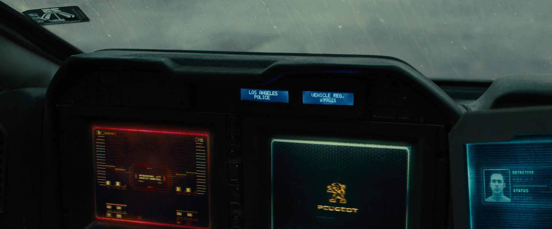 Peugeot Car Used By Ryan Gosling In Blade Runner