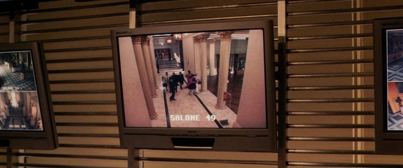 Philips Brilliance Monitors in Ocean's Twelve (2004) - Movie Product Placement