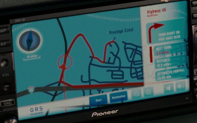 Pioneer Car GPS Navigation in Evan Almighty