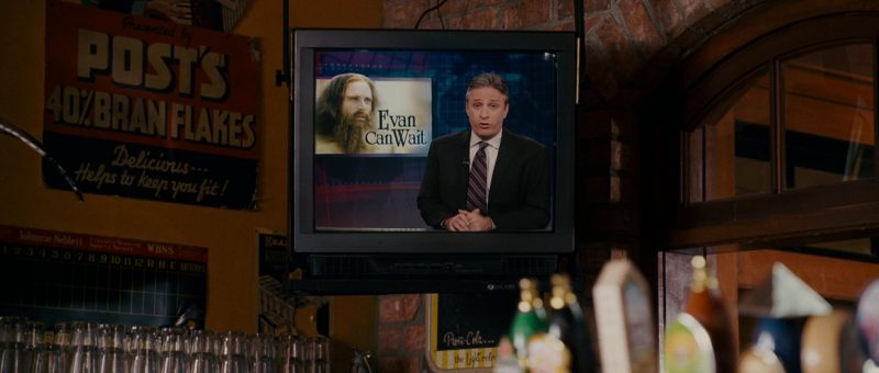 Post Bran Flakes Poster in Evan Almighty (2007) Movie Product Placement