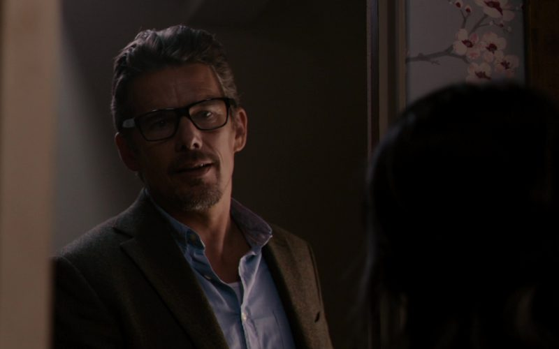 Prada Eyeglasses Worn by Ethan Green Hawke in 24 Hours to Live (4)
