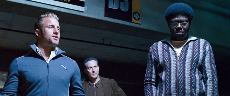 Puma Jacket Worn by Scott Caan in Ocean's Thirteen (2007) - Movie Product Placement