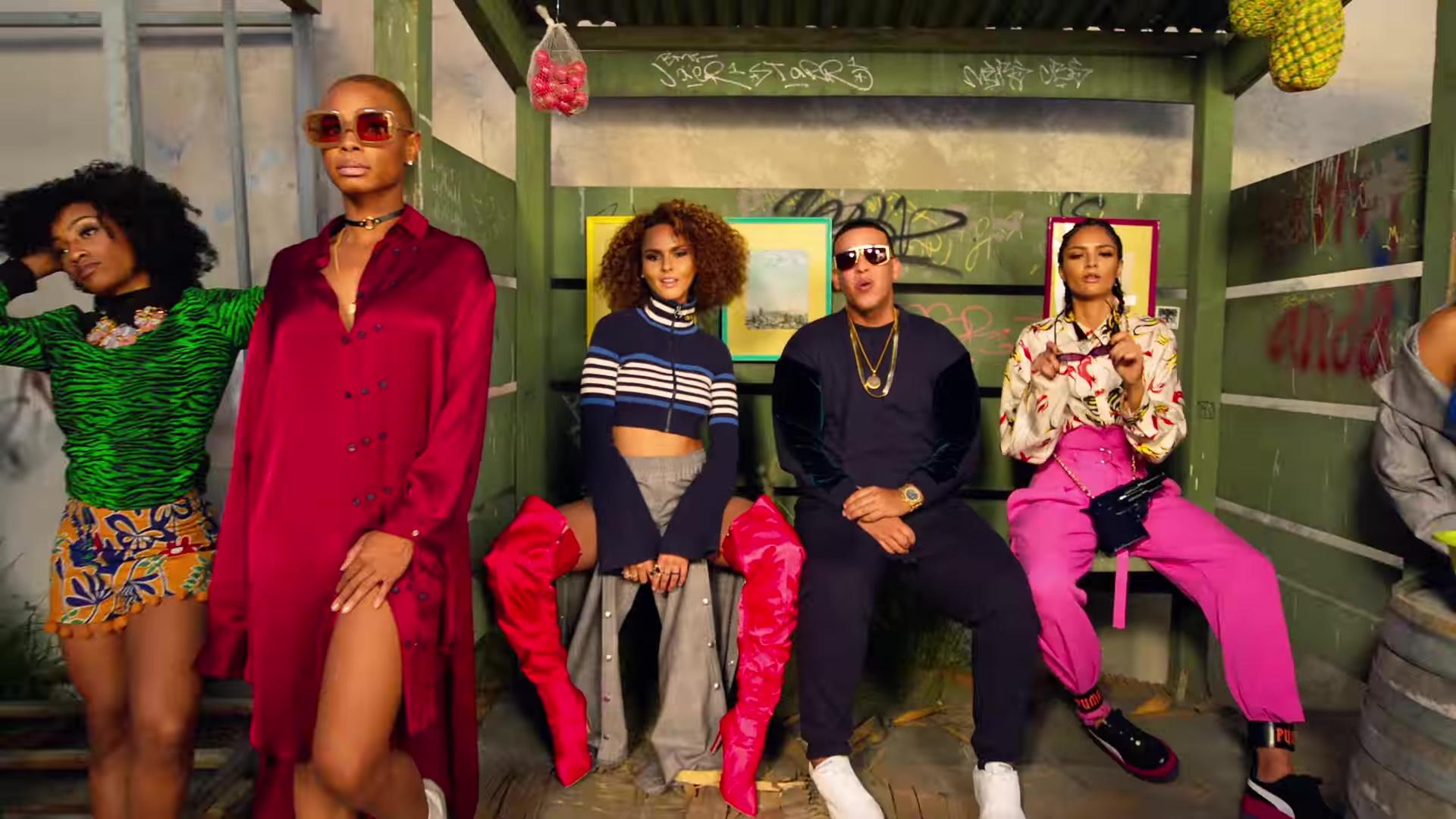 Puma Platform Shoes Worn by Model in Dura by Daddy Yankee (2018) Latin Music 7b9a6e10b