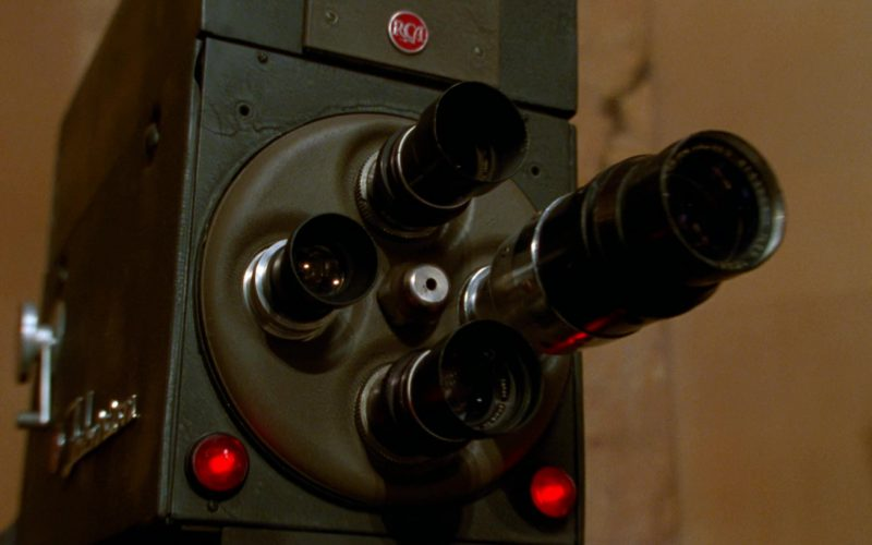 RCA Camera in The Aviator