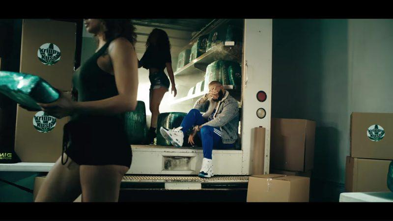 Reebok Sneakers in Krippy Kush (2017) by Farruko, Nicki Minaj, Travis Scott ft. Bad Bunny, Rvssian Official Music Video Product Placement