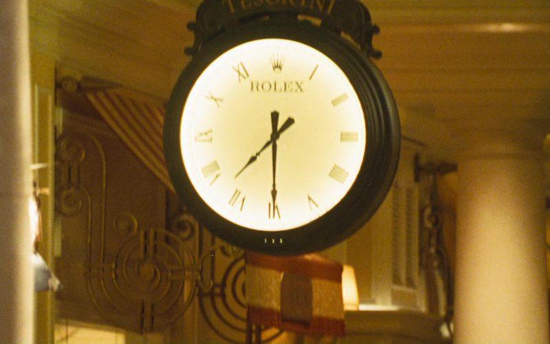 Rolex Clock in Ocean's Eleven
