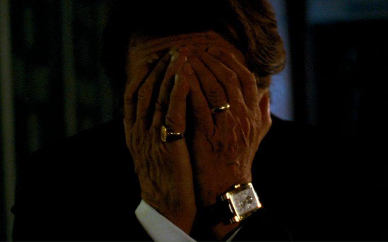 Rolex Prince in Rose Gold Watch Worn by Al Pacino in Ocean's Thirteen (3)