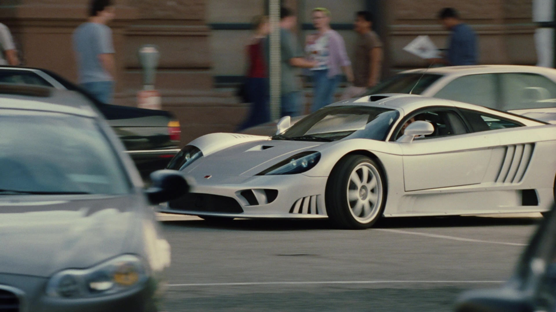 Seen In The Movie Saleen S7 American Hand Built High