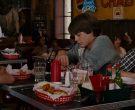 Samuel Adams Beer Blue Neon Sign in Evan Almighty (2007)