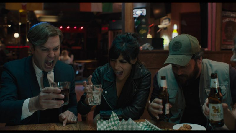 Singha Beer in Killing Gunther (2017) Movie Product Placement
