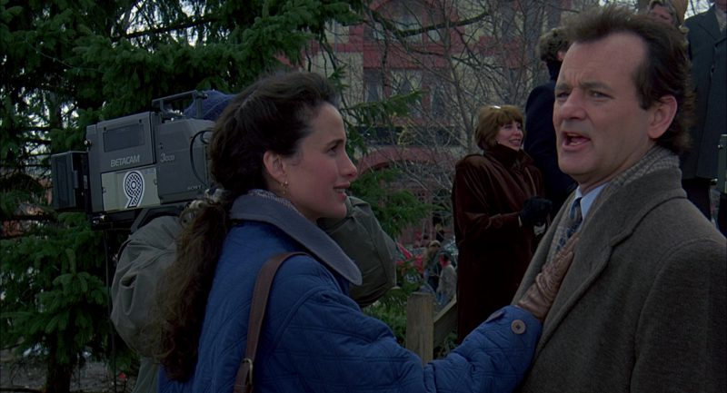 Sony Betacam 3ccd Camera Used by Chris Elliott, Andie MacDowell and Bill Murray in Groundhog Day (1993) Movie Product Placement
