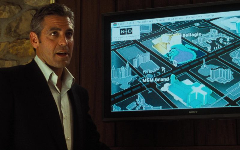Sony TV's in Ocean's Eleven (1)