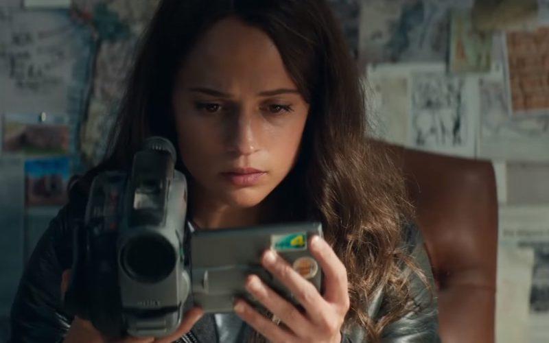Sony Video Camera Used by Alicia Vikander (Lara Croft) in Tomb Raider (1)