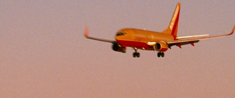 Southwest Airlines Plane in Ocean's Thirteen (2007) Movie Product Placement