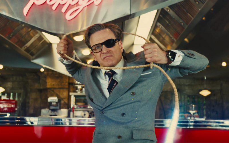 TAG Heuer Smartwatch Used by Colin Firth in Kingsman The Golden Circle (2)