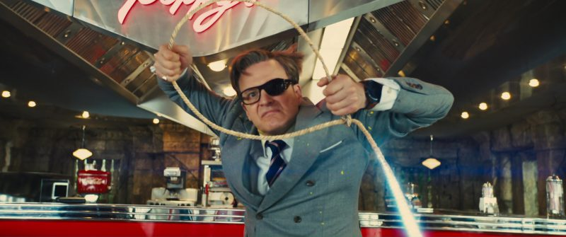 TAG Heuer Smartwatch Used by Colin Firth in Kingsman 2: The Golden Circle (2017) - Movie Product Placement