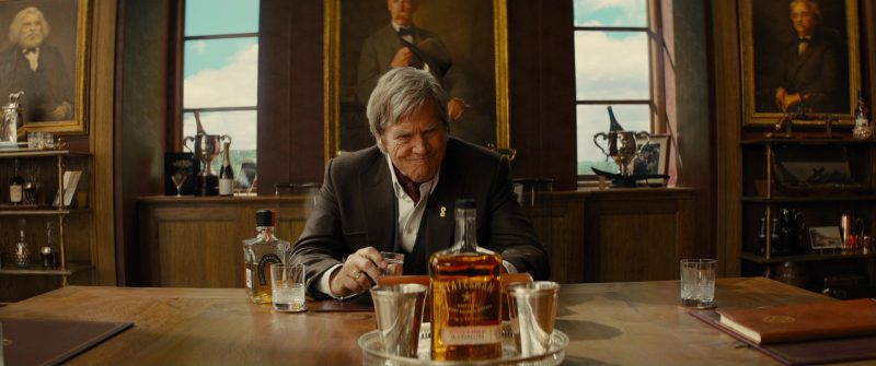 Tequila Herradura and Jeff Bridges in Kingsman 2: The Golden Circle (2017) - Movie Product Placement