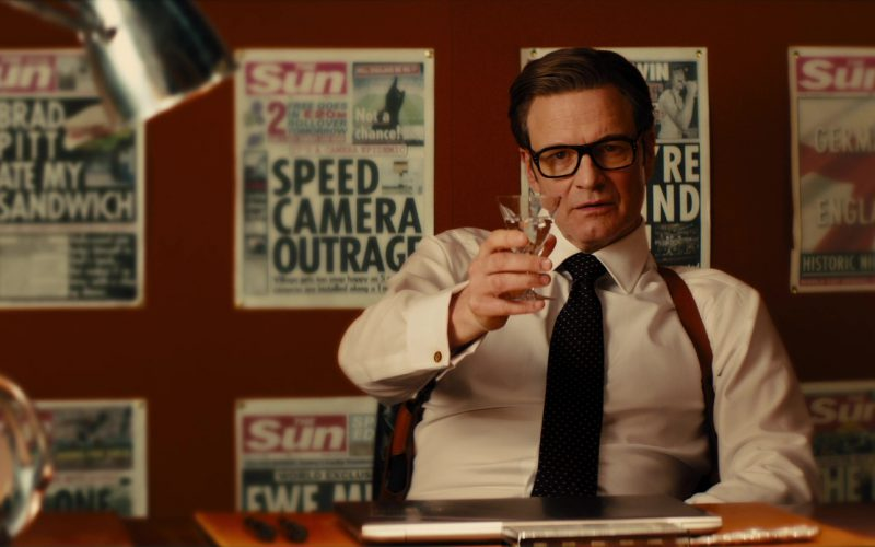 The Sun Tabloid Newspaper in Kingsman The Golden Circle (4)