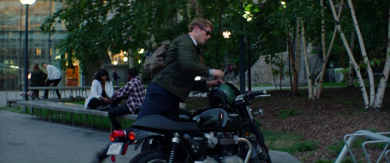 Triumph Thruxton Motorcycle Used by James Norton in Flatliners (2017) Movie Product Placement