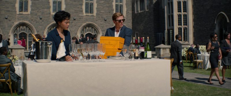 Veuve Clicquot Yellow Label Brut Champagne in Flatliners (2017) Movie Product Placement