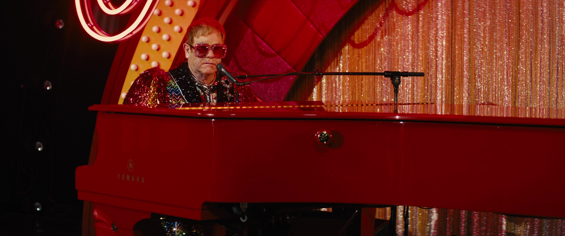 Yamaha Red Grand Piano