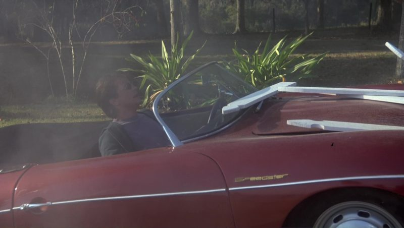 1957 Porsche 356 A Speedster Car Used by Michael J. Fox in Doc Hollywood (1991) Movie Product Placement