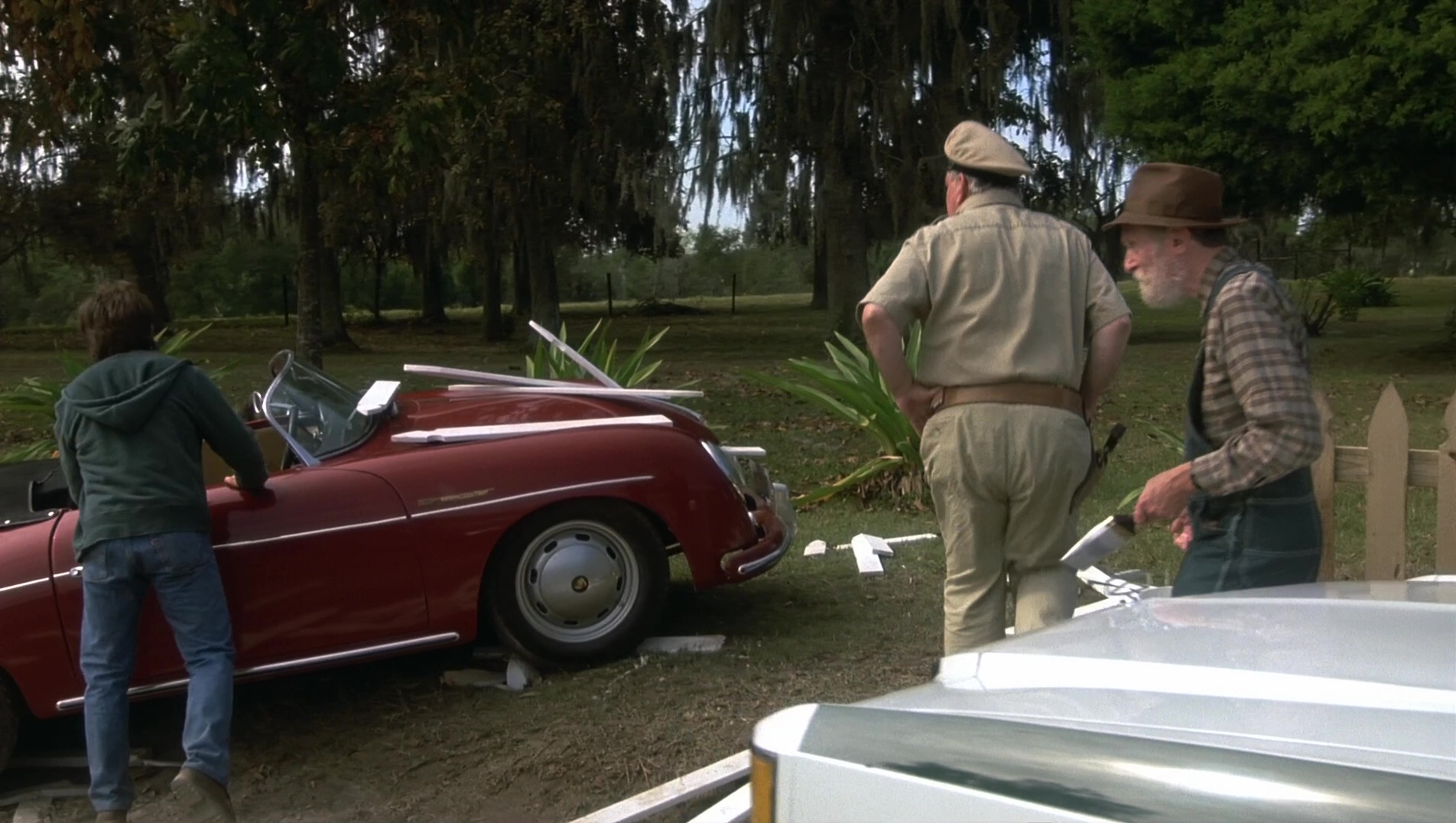 1957 Porsche 356 A Speedster Car Used By Michael J Fox In Doc Hollywood 1991 Movie Scenes