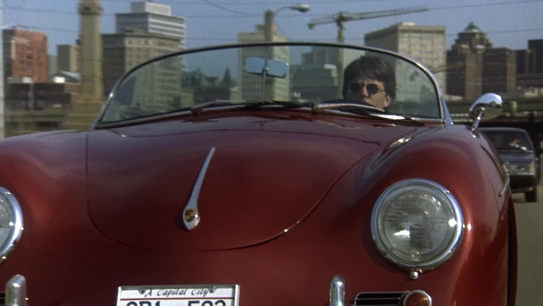1957 Porsche 356 A Speedster Car Used By Michael J Fox In