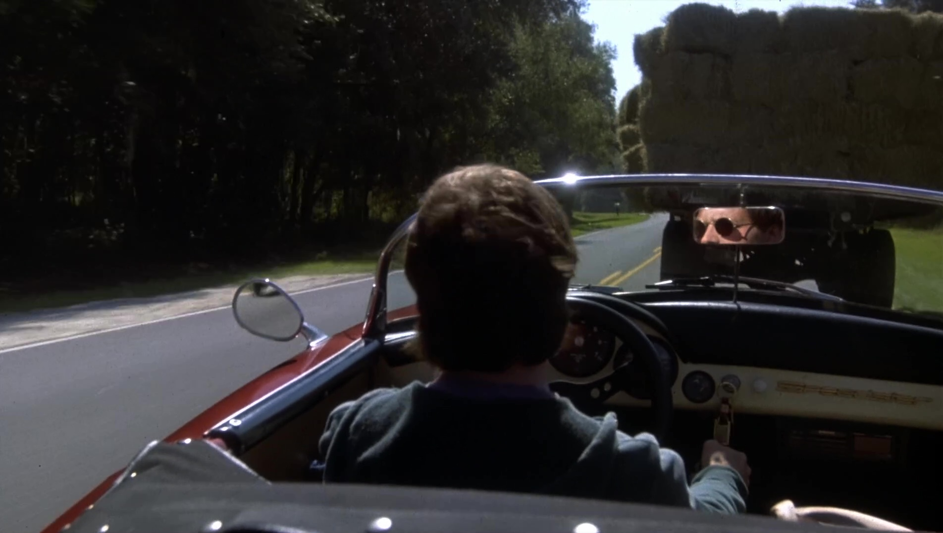 1957 Porsche 356 A Speedster Car Used By Michael J Fox In