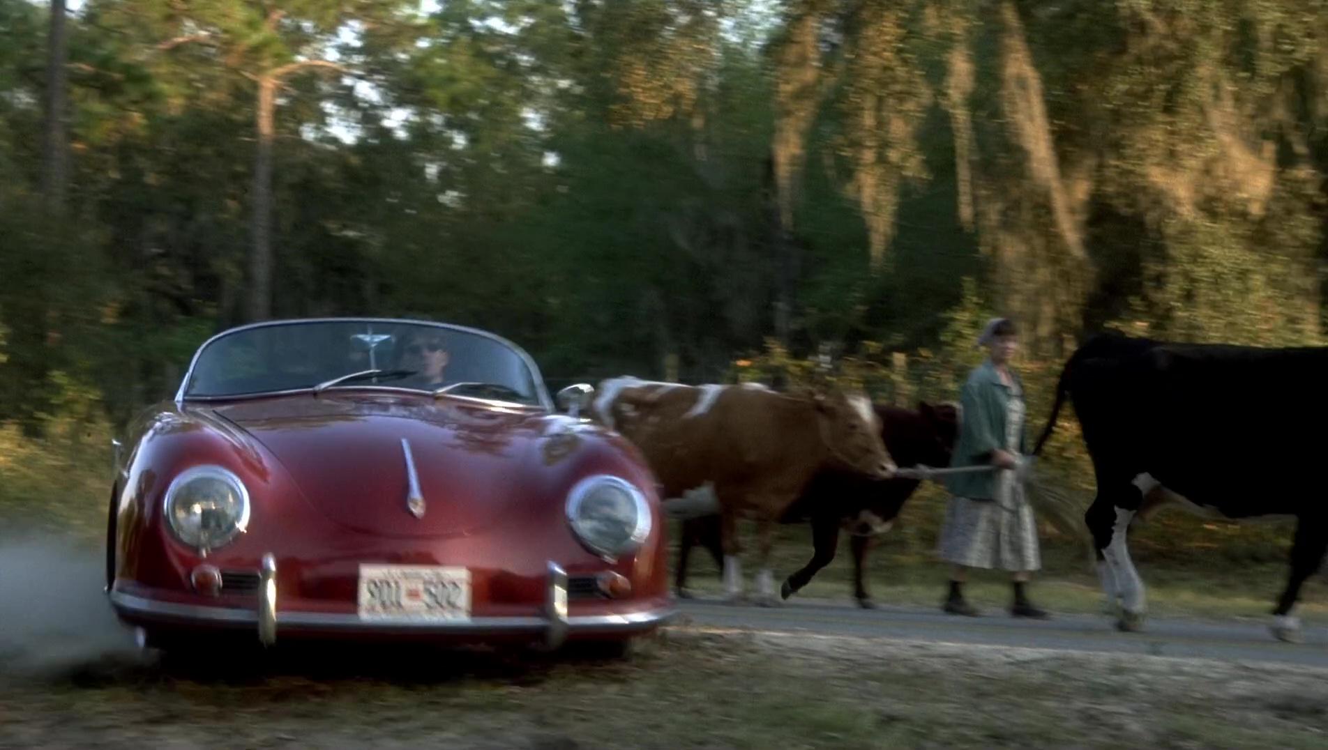 porsche   speedster car   michael  fox   hollywood